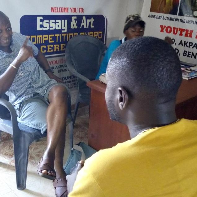 Meeting with Self Organised Returnees from Libya