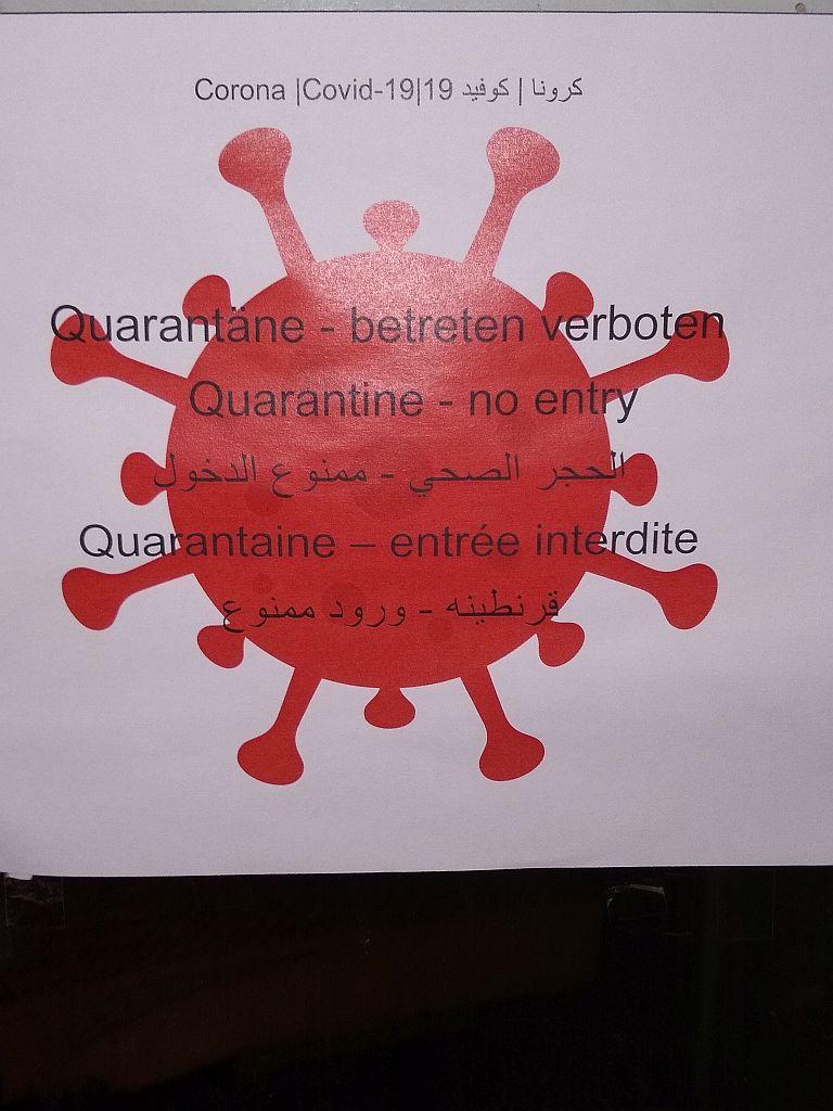 Quarantäne Aspach